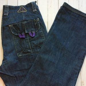 LRG Jeans L-R-Tek-Knowledge-Gean Classic 47 EUC 34